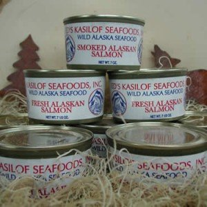 Smoked Canned Salmon