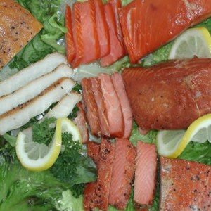 Smoked Salmon and Halibut