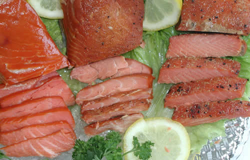 Smoked Salmon from Alaska
