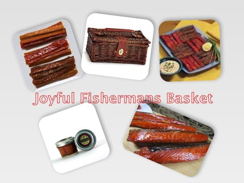 Happy Fisherman's Gift Basket