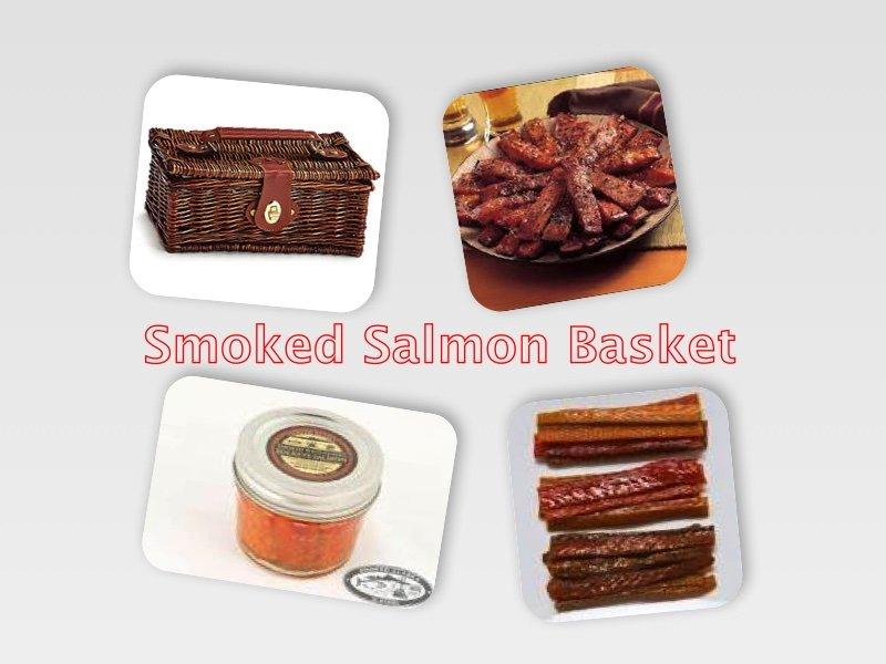 Smoked Salmon Gift Basket Ed S Kasilof Seafoods